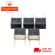 5 x 0.82uF 310VAC MKP X2  Safety Suppression Capacitors 40/110/56 B - PACK OF 5
