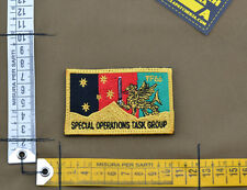 """Ricamata / Embroidered Patch Australian SF """"SOTF TF66"""" with VELCRO® brand hook"""