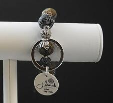 Jilzara Animal Small Wrist Keychain Polymer Clay Beads Handmade Artisan P5