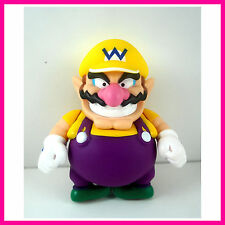 "LAST ONE Super Mario Brothers WARIO Action 5"" Figure Party Toy Birthday Gift"