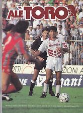alè TORO - campionato 1991-1992 completo 10 numeri