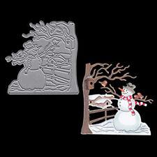 Snowman Christmas Dies Metal Cutting Dies scrapbooking Arrivals Die Cuts Craft