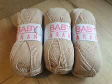 Hayfield Baby Bonus 4ply-BABY BLUE 2 lots disponibles 0854 1x 100 g Balle