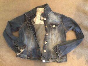 Next Girls Blue Denim Jean Jacket Age 11-12 Yrs