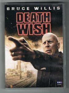 DEATH WISH - ELI ROTH - BRUCE WILLIS - 2018 - DVD COMME NEUF