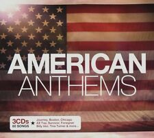 AMERICAN ANTHEMS NEW 3CD - ROCK HITS BY ZZ TOP,TOTO,BOSTON,POISON,BREAD + MORE