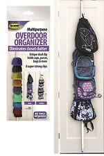 Storage Overdoor Accessory Organizer Clothes Cap/Backpack/Purse Rack