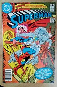 DC~SUPERMAN #347~VFn~Pence Variant~Bag/Board~