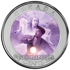 2016 Haunted Canada #3 Ghost of Bell Island Hag 25 Cents Lenticular Quarter