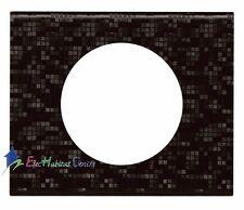 Plaque simple Céliane matière cuir pixel Legrand 69451