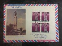 1993 Druskininkai Lithuania Airmail Registered Cover To Macau