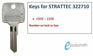 Suits Strattec Winnebago Mack GM + Others Key Cut to code number  FREE POST