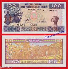 GUINEA 100 Francs Francos 1960 2012 Pick new SC  / UNC