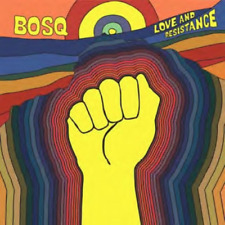 BOSQ-LOVE AND RESISTANCE-IMPORT CD WITH JAPAN OBI F04