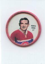 62-63 SHIRRIFF HOCKEY COIN #27 MARCEL BONIN CANADIENS