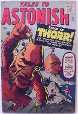 TALES TO ASTONISH #16 (1961)  FN 6.0  PROTOTYPE ISSUE (STONE MEN)