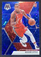 2019 Mosaic Fast Break #247 Nassir Little Blue Disco Prizm #d to 02/85 RC Rookie