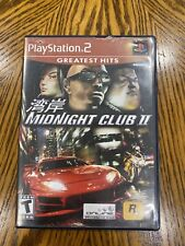 Midnight Club II (Sony PlayStation 2, 2003) Complete w/ Manual PS2