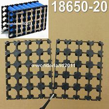 2 un. Batería de 18650 células 4x5 Paquete De Concha Espaciador radiante soporte de plástico de calor ev