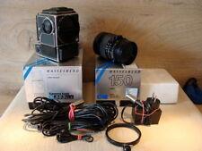 Hasselblad 10067-Moyen format SLR 553elx Sonnar 4/150mm + accessoires-Neuf dans sa boîte!