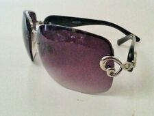 Womens Fashion Sunglasses Half Rim Gradient Lenses