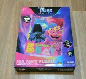 TROLLS World Tour Gimme A Beat Jigsaw Puzzle 300 Pieces NIB 45.7cm x 60.9cm BNIB
