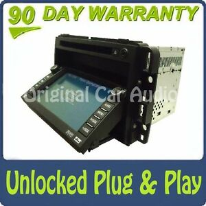 Unlocked CHEVY GMC Navigation GPS System Display Screen Radio CD DVD Player BOSE