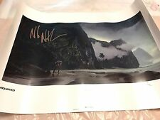 Uncharted - Beach Lithograph # 299/300 - Signed by Eythan Zana & Nolan North