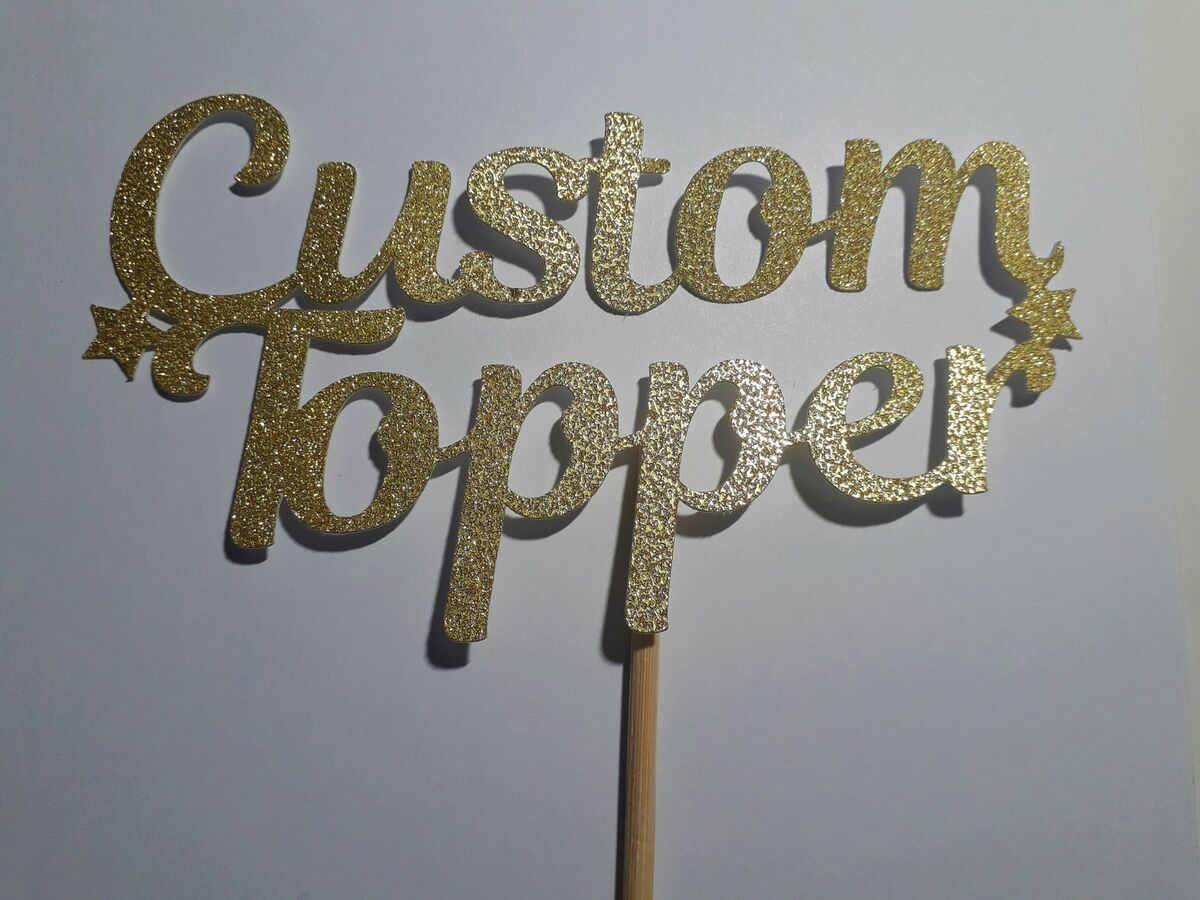Chloe's Custom Topper's