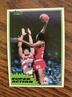 1981-82 Topps Midwest  #110  Moses Malone Atlanta Hawks NrMt