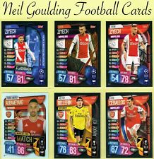 Topps MATCH ATTAX EXTRA 2019-2020 ☆ Champions/Europa League Cards ☆ Clubs A to E