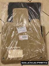 Lexus LS430 (2004-2006) 4pc OEM Genuine CARPET FLOOR MATS (Cashmere)