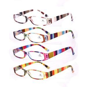 Small Rectangle Spring Hinges Reading Glasses +1.0 1.5 2.0 2.5 3.0 3.5 Men Women