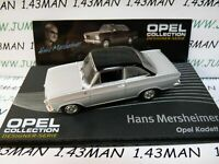 OPE135R 1/43 IXO designer serie OPEL collection : KADETT A coupé H.Mersheimer