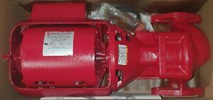 Bell & Gossett W016189 Hot Water Circulator Pump 100 Series 1/12 HP Booster