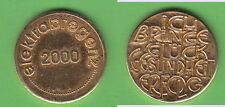 Glückspfennig unedel Neujahr 2000 elektrabregenz gebraucht (Tb.10) stampsdealer