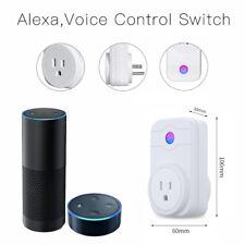 Wireless Smart WiFi Timer Socket Switch Outlet Power RC for Alexa Amazon US Plug