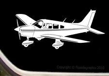 Pilot Decal-Sticker Piper Cherokee 235 Airplane 2 Blade Prop SK-CA-23