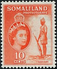 Elizabeth II (1952-Now) Somaliland Protectorate Stamps