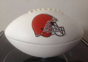 NFL Signature Series Full Size Rawlings Football Cleveland  Browns New Logo