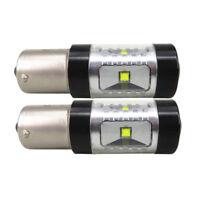 2PC 30W CREE White Error Free 1156 BA15S P21W Led Backup Reverse Lights Canbus