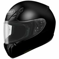 SHOEI RF-SR FULL FACE MOTORCYCLE HELMET BLACK XXLARGE 2XL 0107-0105-08