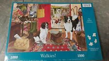 House of puzzles 1000 piece jigsaw puzzle WALKIES