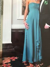 BEAUTIFUL COAST GREEN LONG BALL GOWN, EVENING DRESS SIZE 6