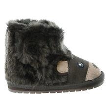 Emu Australia Toddler Bear Walker Boot - Chocolate - Girls/Boys - 6-12