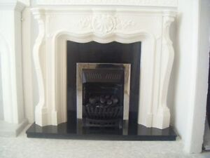 F14 Louis Carrington No1 Fire Surround in Plaster - BIRMINGHAM COLLECTION ONLY