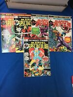 Marvel Bronze Age: The Mighty Thor Starring In Marvel Spectacular (5) Issue Lot