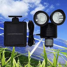 22 LED Dual Solar Powered Motion Sensor PIR Security Light Garden Garage Outdoor