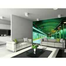 Murales de papel pintado verdes