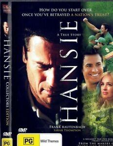 Hansie DVD Cricket Movie South African true story sports drama movie